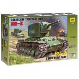 Звезда 3608, Советский тяжелый танк КВ-2